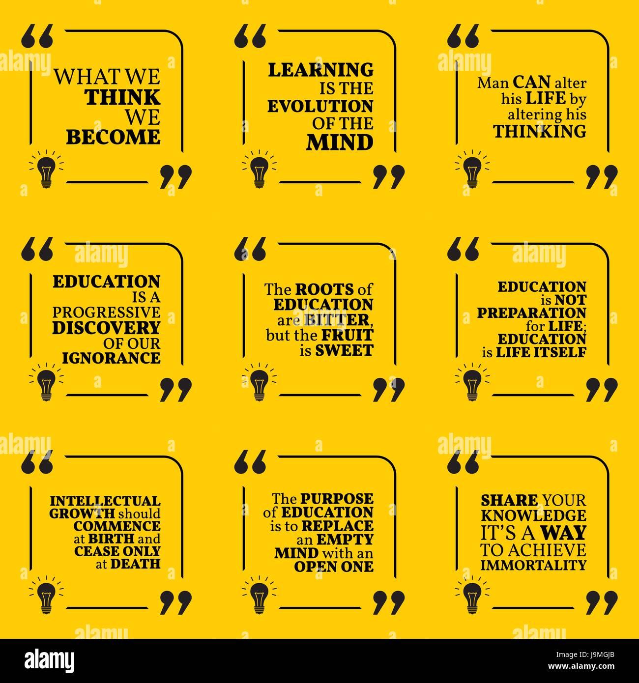 Satz Von Motivierende Zitate über Weisheit Intelligenz