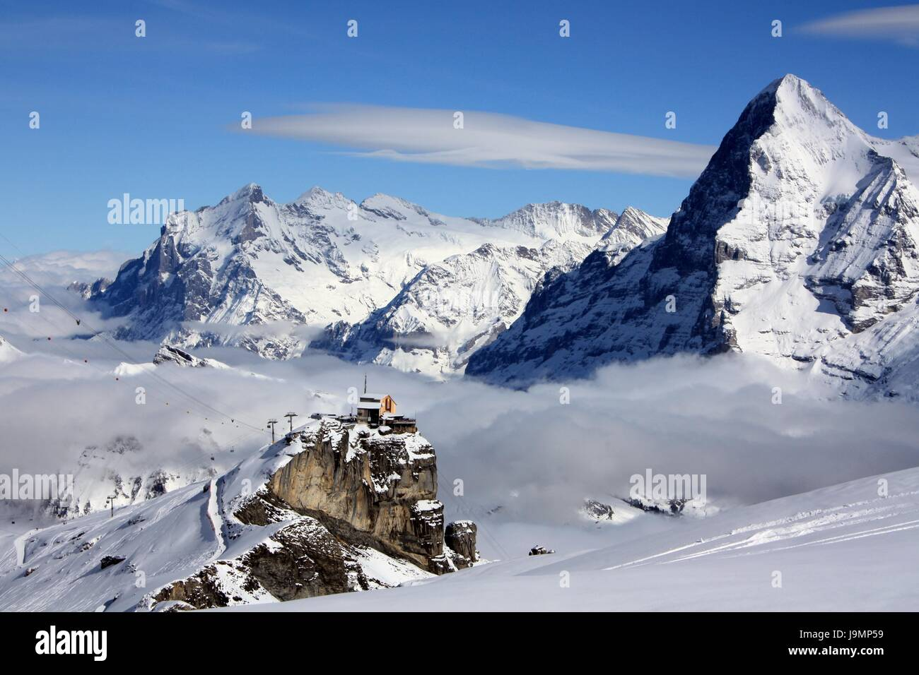 alpen schweiz schnee berge jungfrau berge urlaub urlaub stockfoto bild 143671285 alamy. Black Bedroom Furniture Sets. Home Design Ideas