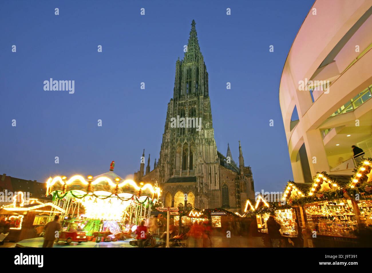 Ulm Weihnachtsmarkt.Weihnachtsmarkt In Ulm Stockfotos Weihnachtsmarkt In Ulm Bilder