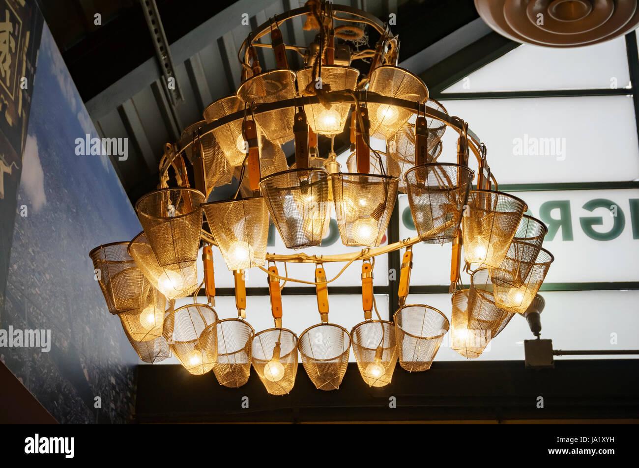 Los Angeles, Mai 25: Interessante Dekoration eine Nudelsuppe Ramen ...