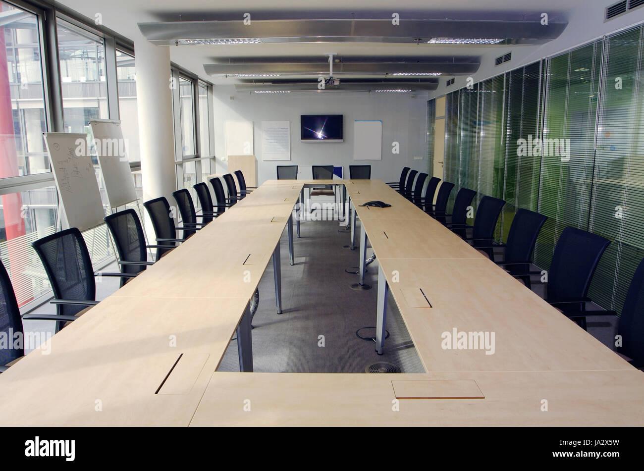 Büro, Konferenzraum, Möbel, Modern, moderne, Interieur, Arbeitsplatz ...