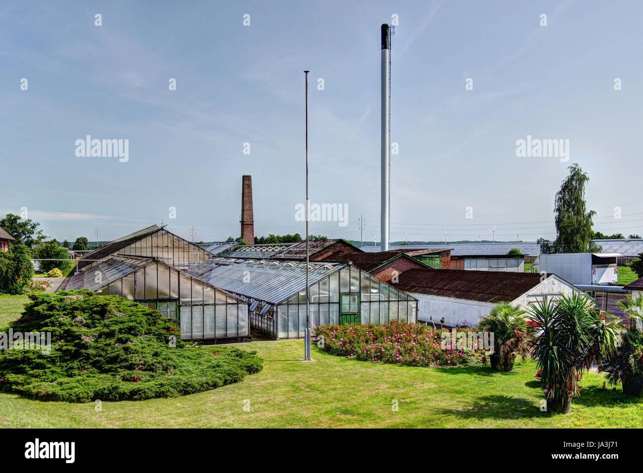 Gewachshaus Anlage Hamburg Curslack Stockfoto Bild 143909669 Alamy