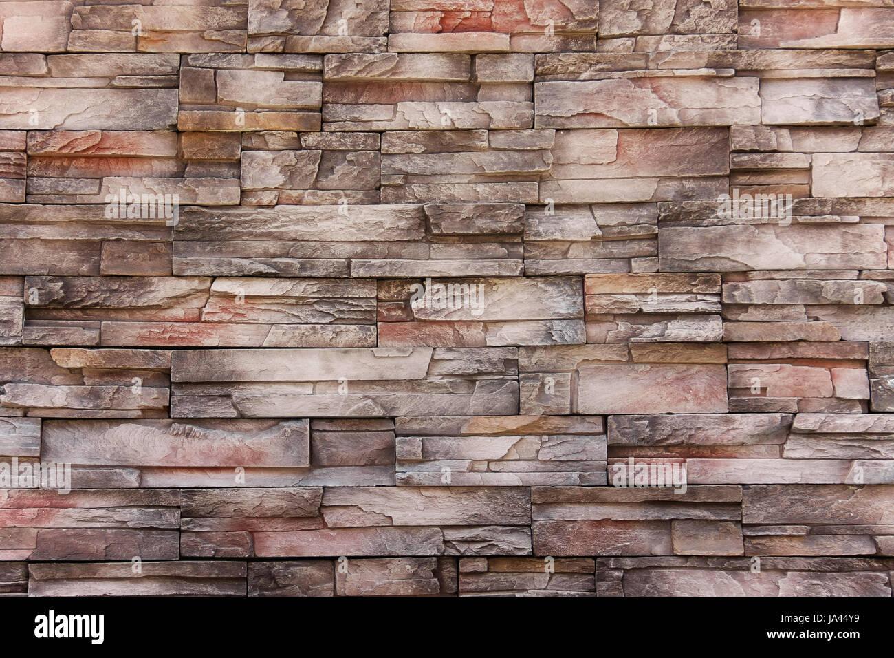 Alte Farbe Mit Modernem Stil Aus Stein Ziegel Wand Und Abstrakte Textur Für  Außen, Industrie