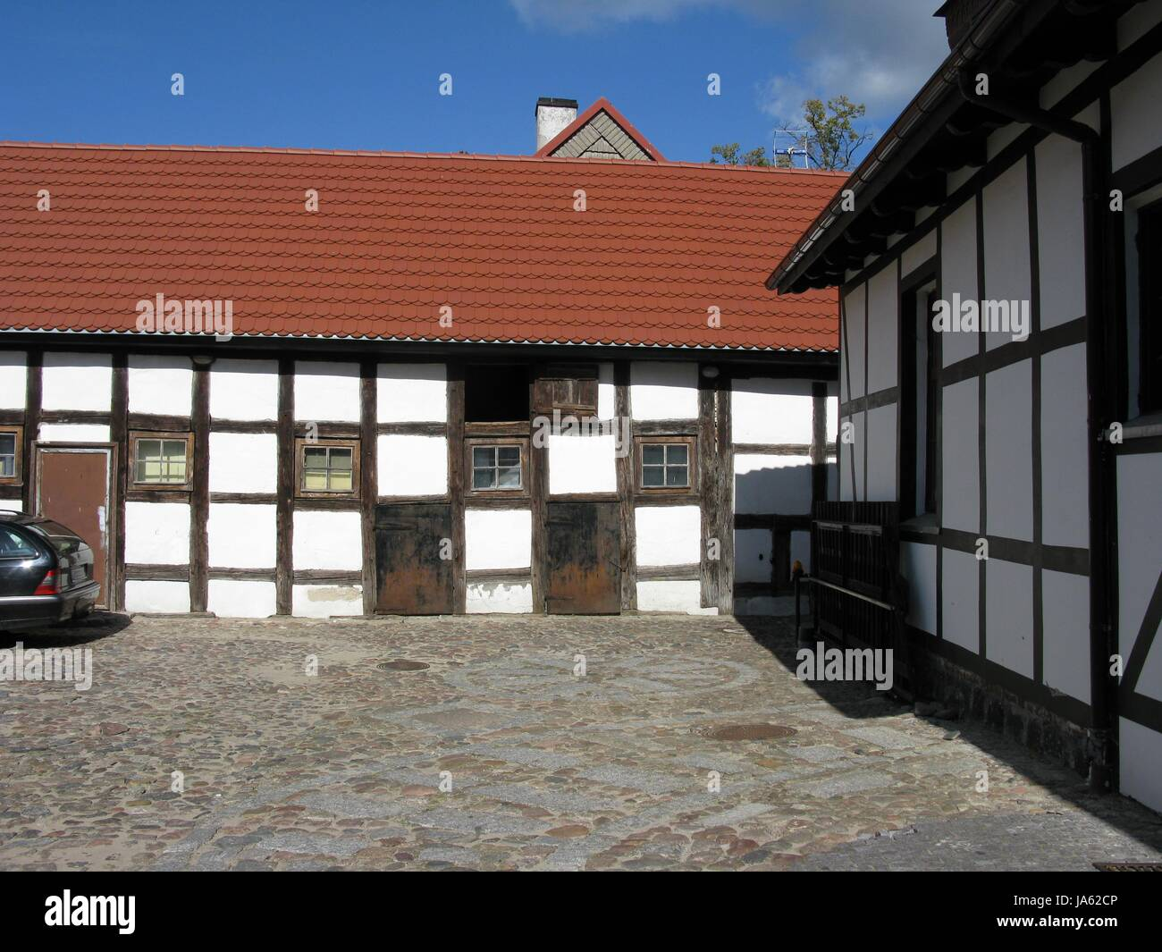 Haus, Gebäude, historische, Geschichte, Altstadt, Rahmen, Wand ...