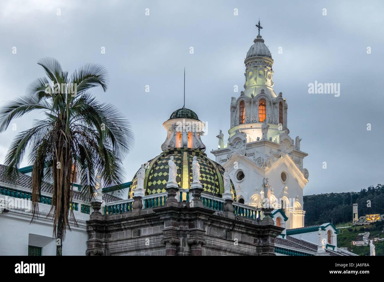 Metropolitan-Kathedrale - Quito, Ecuador Stockbild