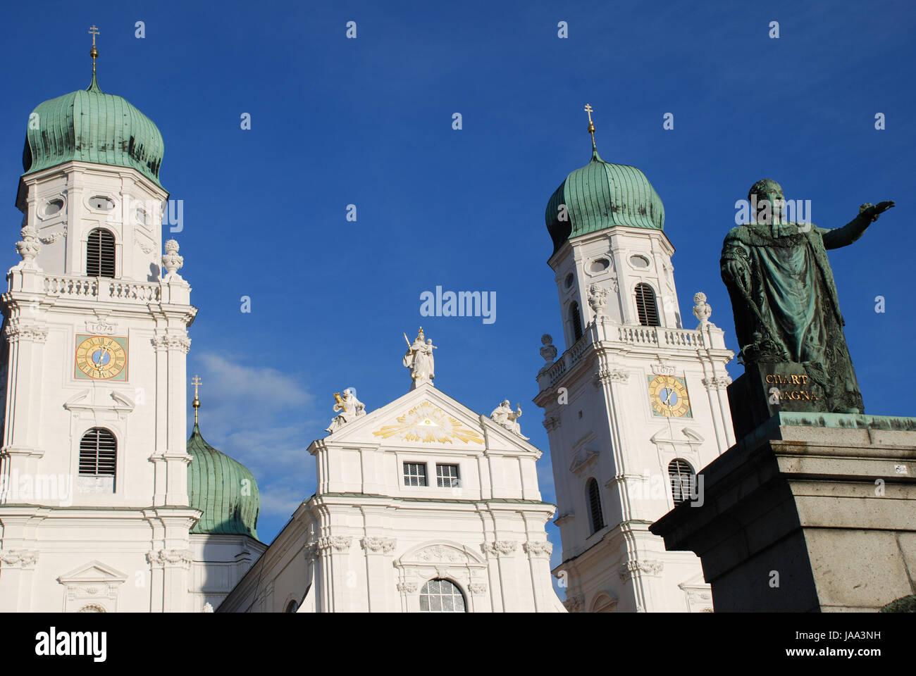 Denkmal, Kathedrale, Barock, Universität, Bildungseinrichtung, pädagogische Stockbild