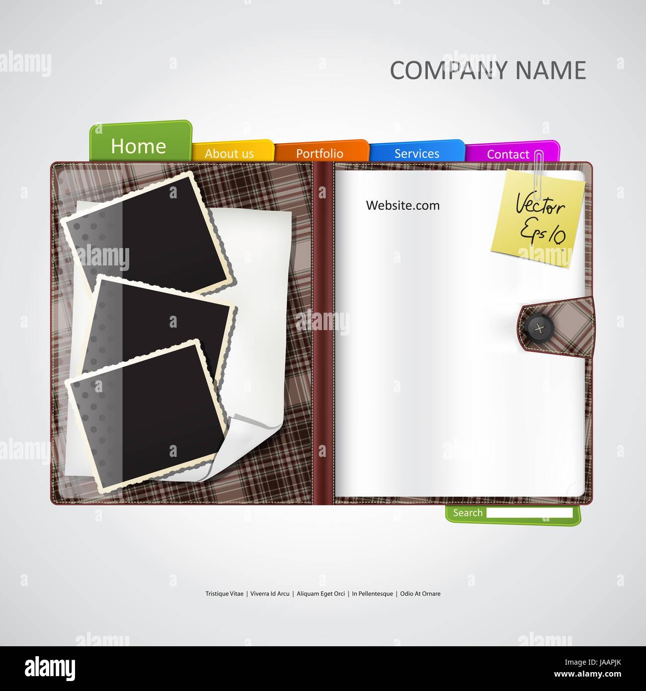 Website Template Agenda Stockfotos & Website Template Agenda Bilder ...