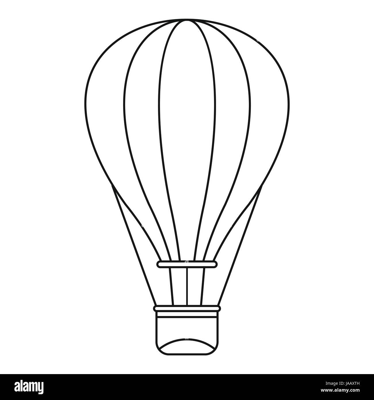 Tolle Heißluftballon Vorlage Zeitgenössisch - Beispiel Business ...
