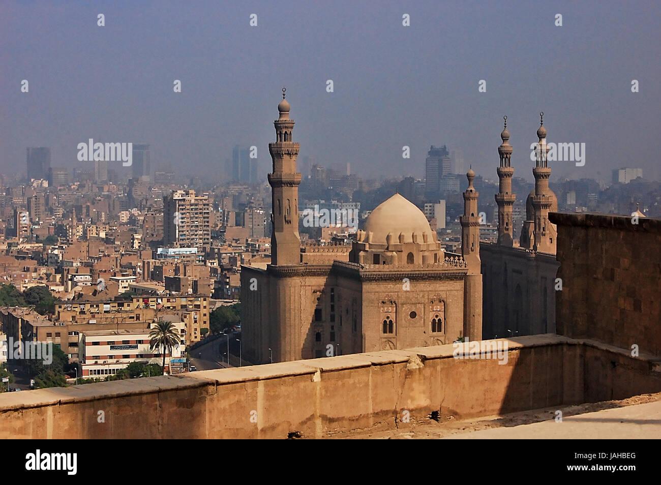Fotografieren während einer Reise nach Ägypten im Jahr 2010 Stockbild