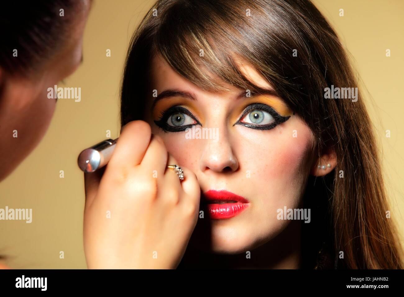 Cleopatra Makeup Stockfotos Cleopatra Makeup Bilder Alamy