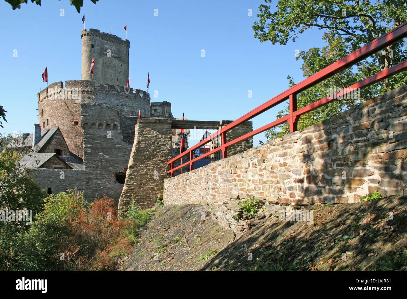 Deutschland Rheinland Pfalz Bach Im Außenbereich Broden Zum