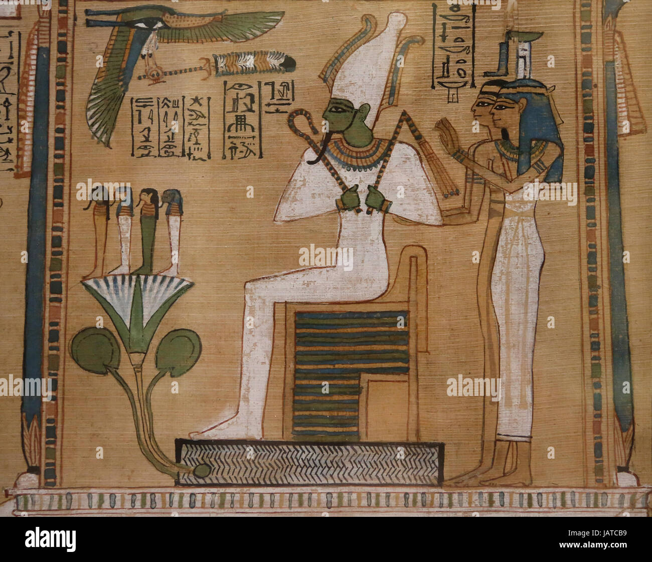 book of the dead osiris
