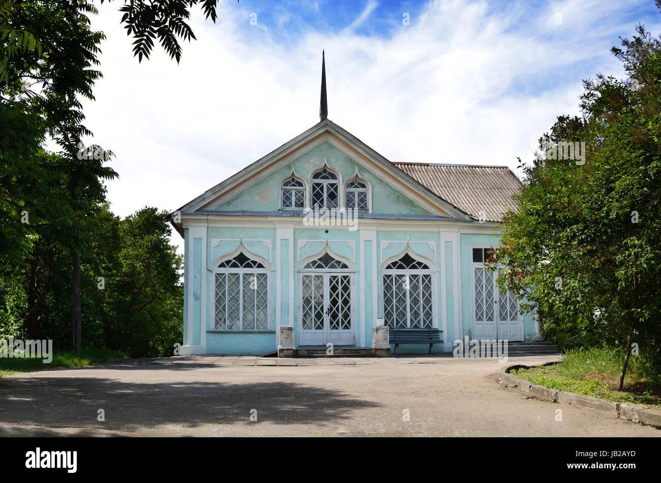 Alten Palastgebäude Lopuchin-Demidov, Prinz des russischen Reiches in Korsun im Besitz. Stockbild