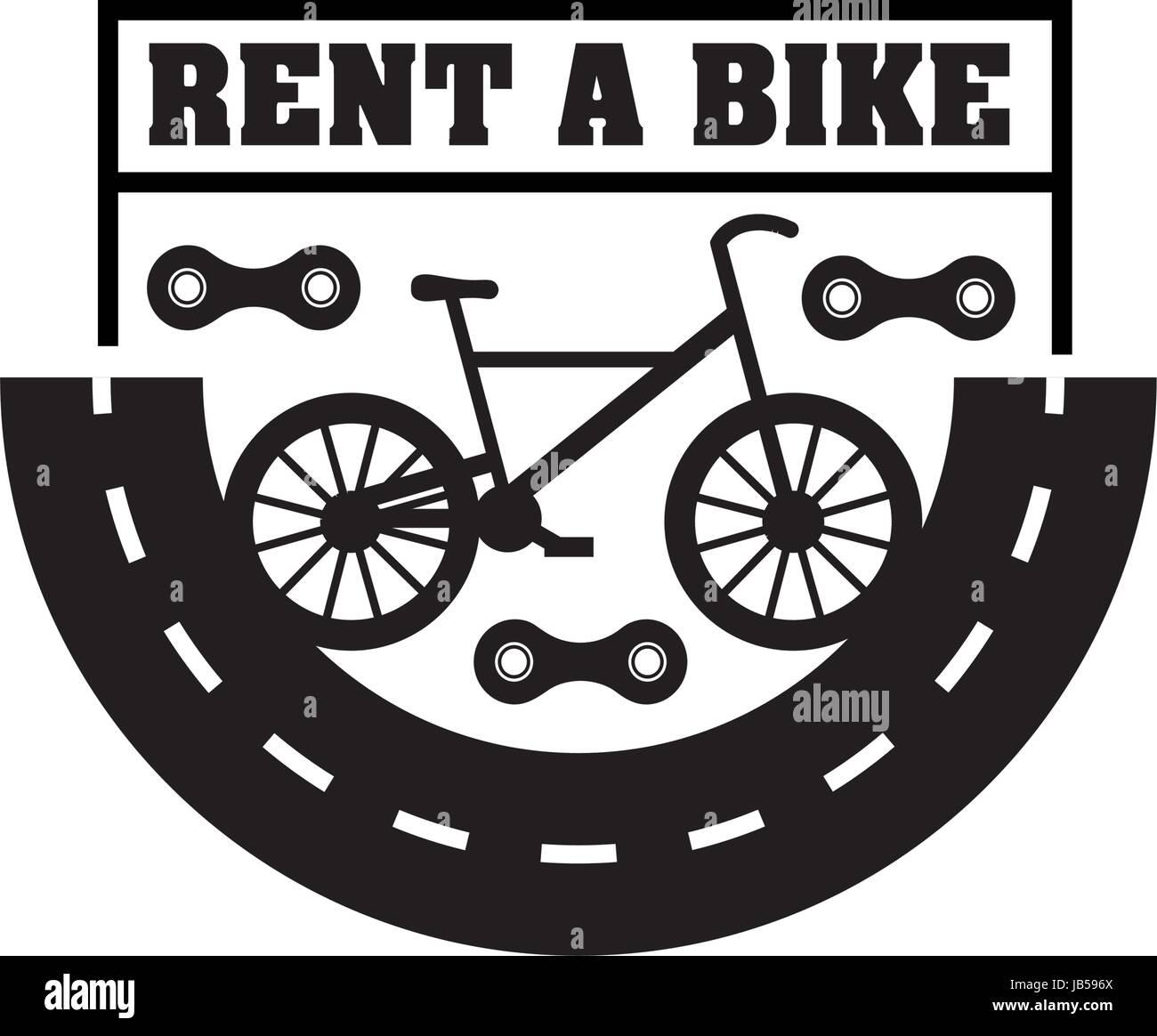 Mieten Sie Einen Fahrrad Abzeichen Jahrgang Sport Logo