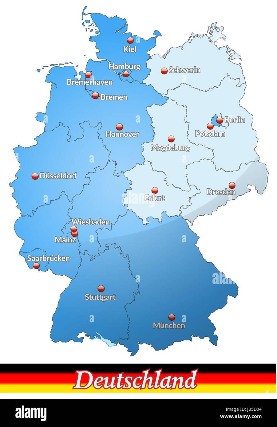 West Und Ost Deutschland