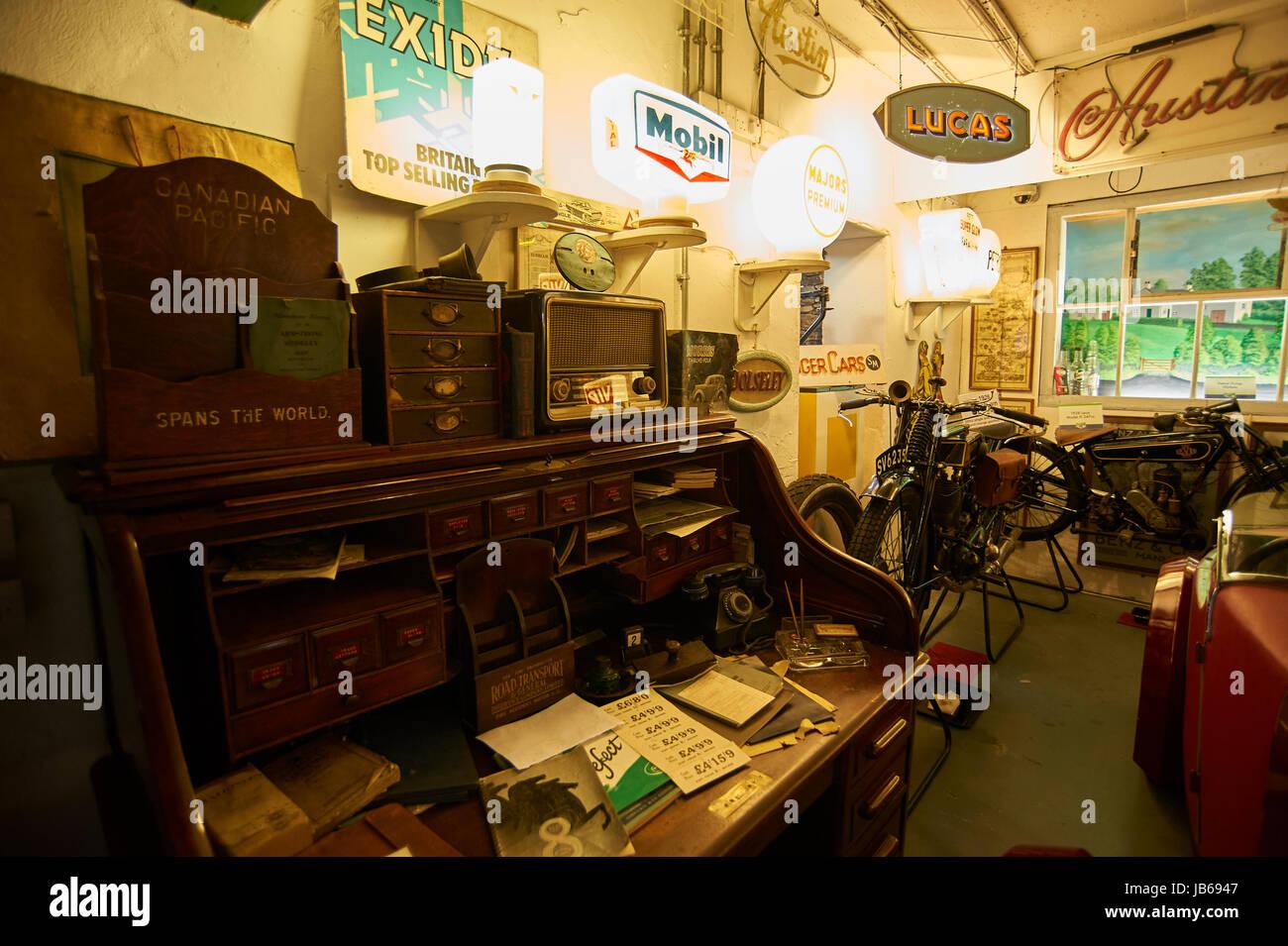 Die Lakeland Motor Museum in Newby Bridge UK GB Stockbild