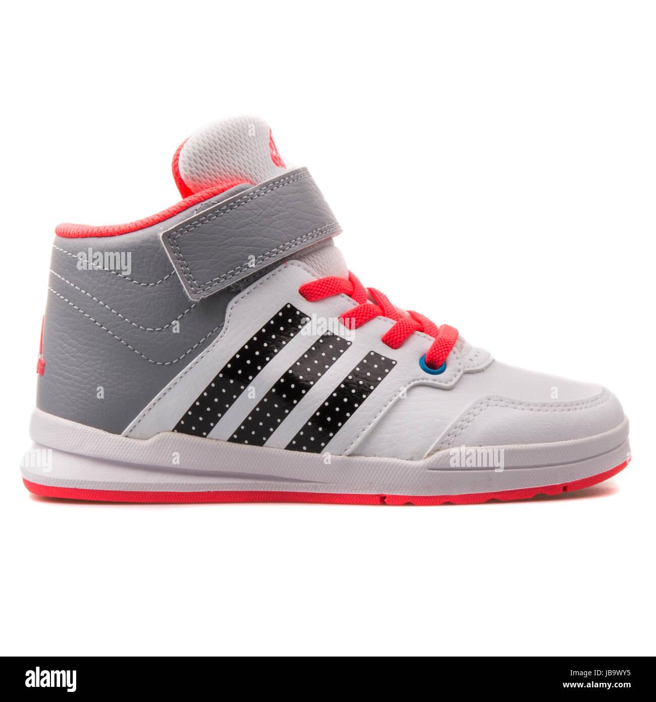Adidas Jan BS 2 Mitte C weiß, grau und rot Kinder