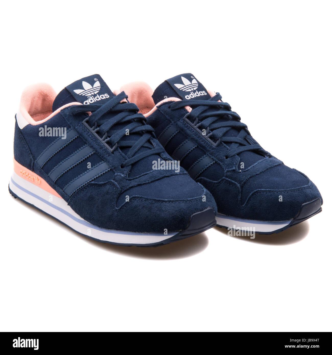Adidas ZX 500 OG W dunkele blaue und Rose Frauen die