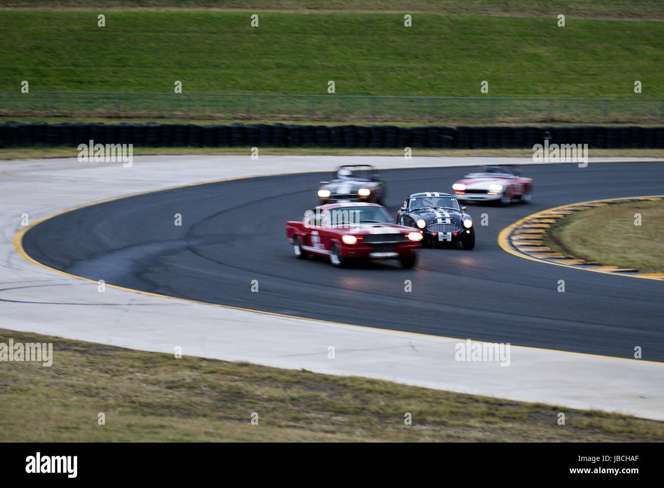Sydney Motorsport Park, 10. Juni 2017.  Gruppe S-Rennen von Geoff Pike. Anthony fesselte/Alamy Live-Nachrichten Stockbild