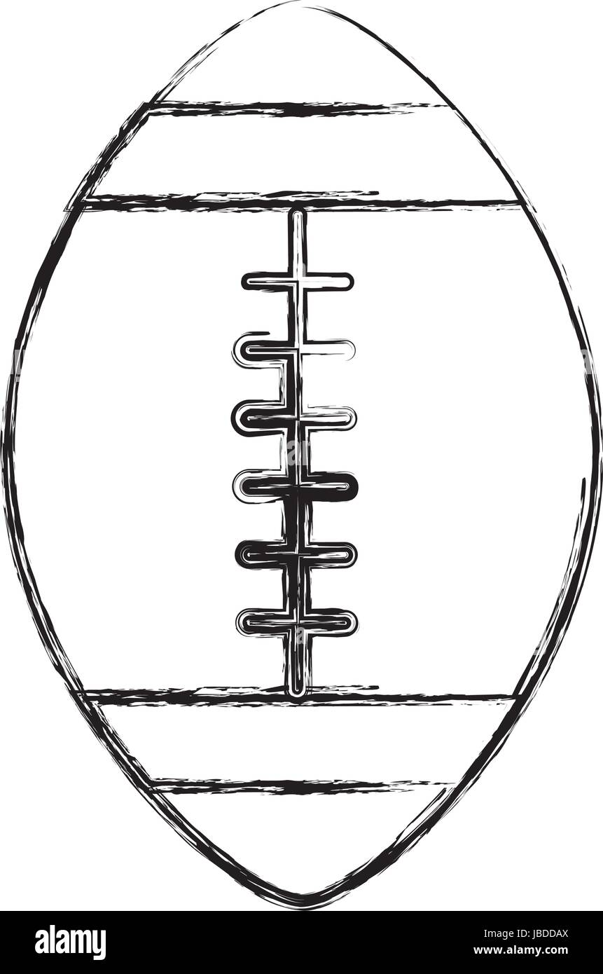 Skizze Zu Zeichnen Fussball Ball Cartoon Vektor Abbildung