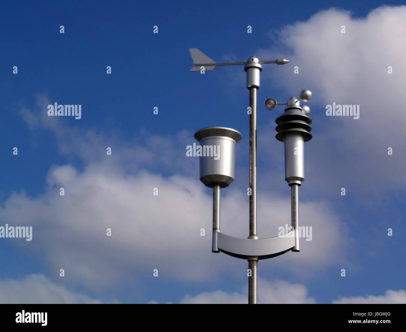 Anemometer Stockbild