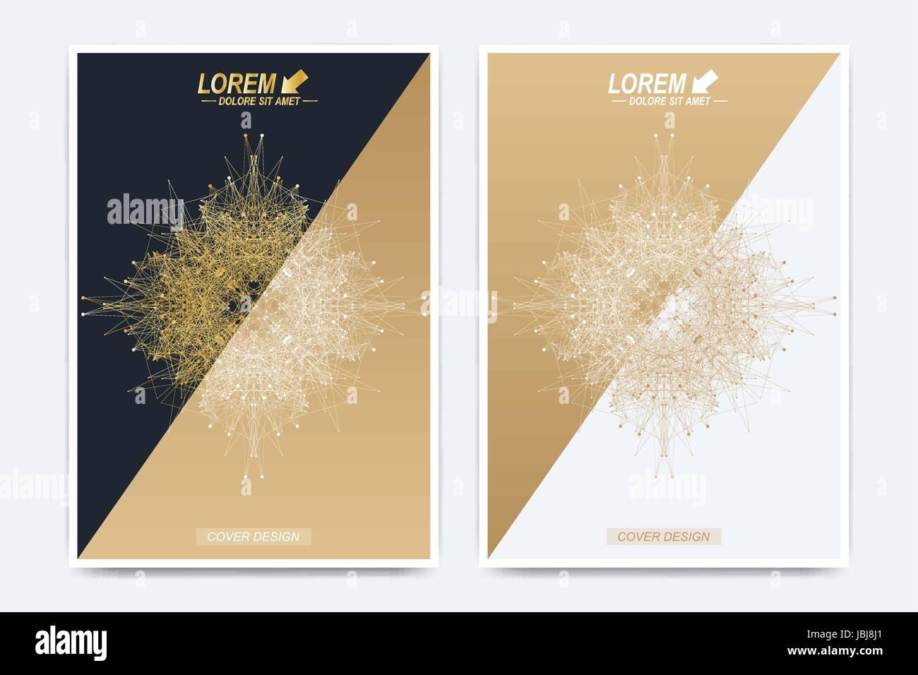 Moderne Vektor Vorlage für Broschüre, Broschüre, Flyer, Werbung ...