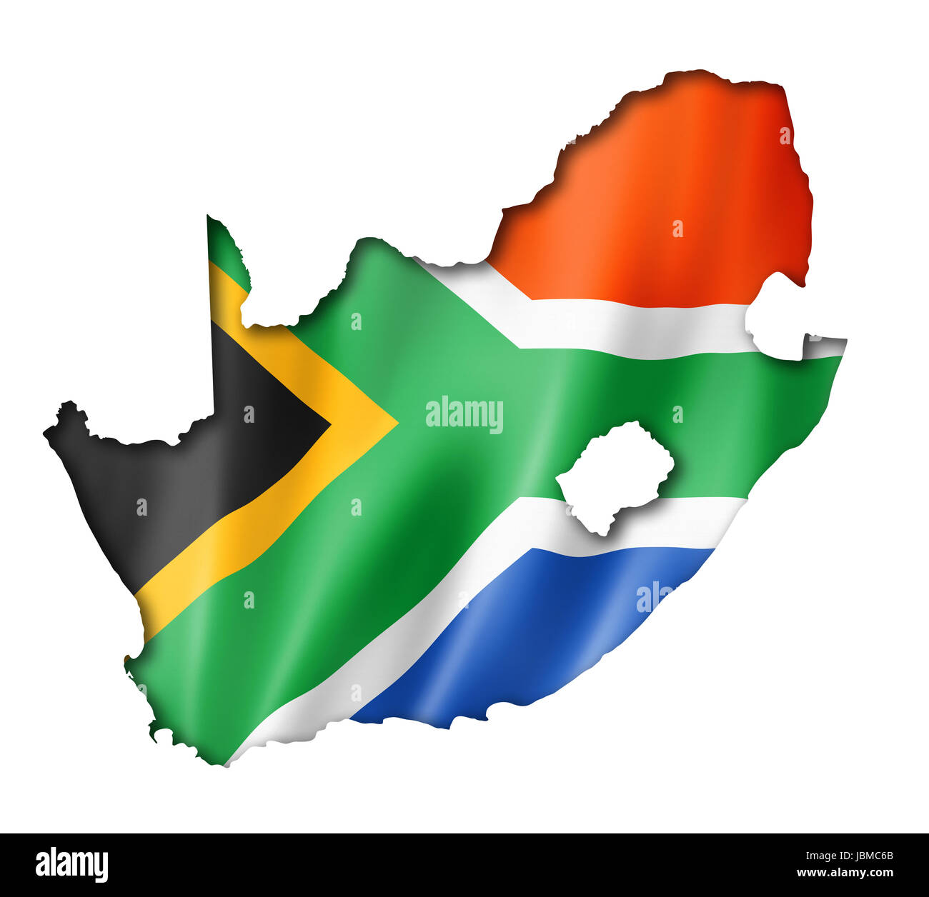 South Africa Flag Outline Stockfotos & South Africa Flag Outline ...