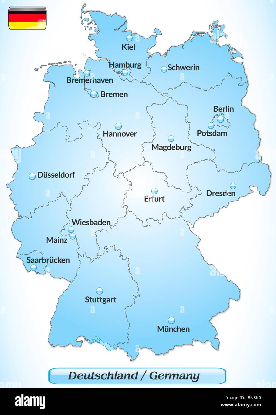 Deutschlandsim Karte