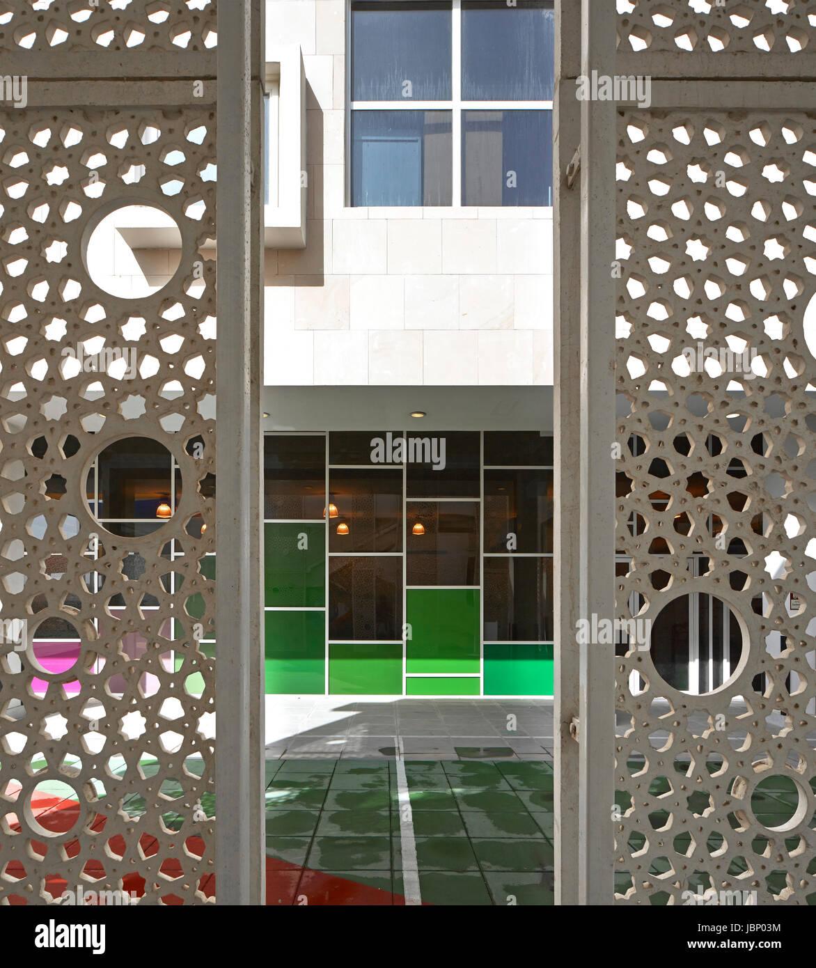 Suche Architekt auf der suche durch metall jali sieg höhen grundschule dubai