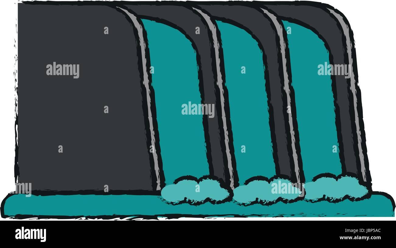 Wasserfall Clip-art - Wasser Garten cliparts png herunterladen - 4000*3954  - Kostenlos transparent Organismus png Herunterladen.