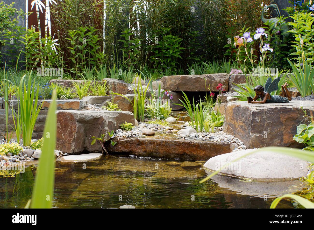 Bilder Gartenteiche Mit Bachlauf: Erweiterung