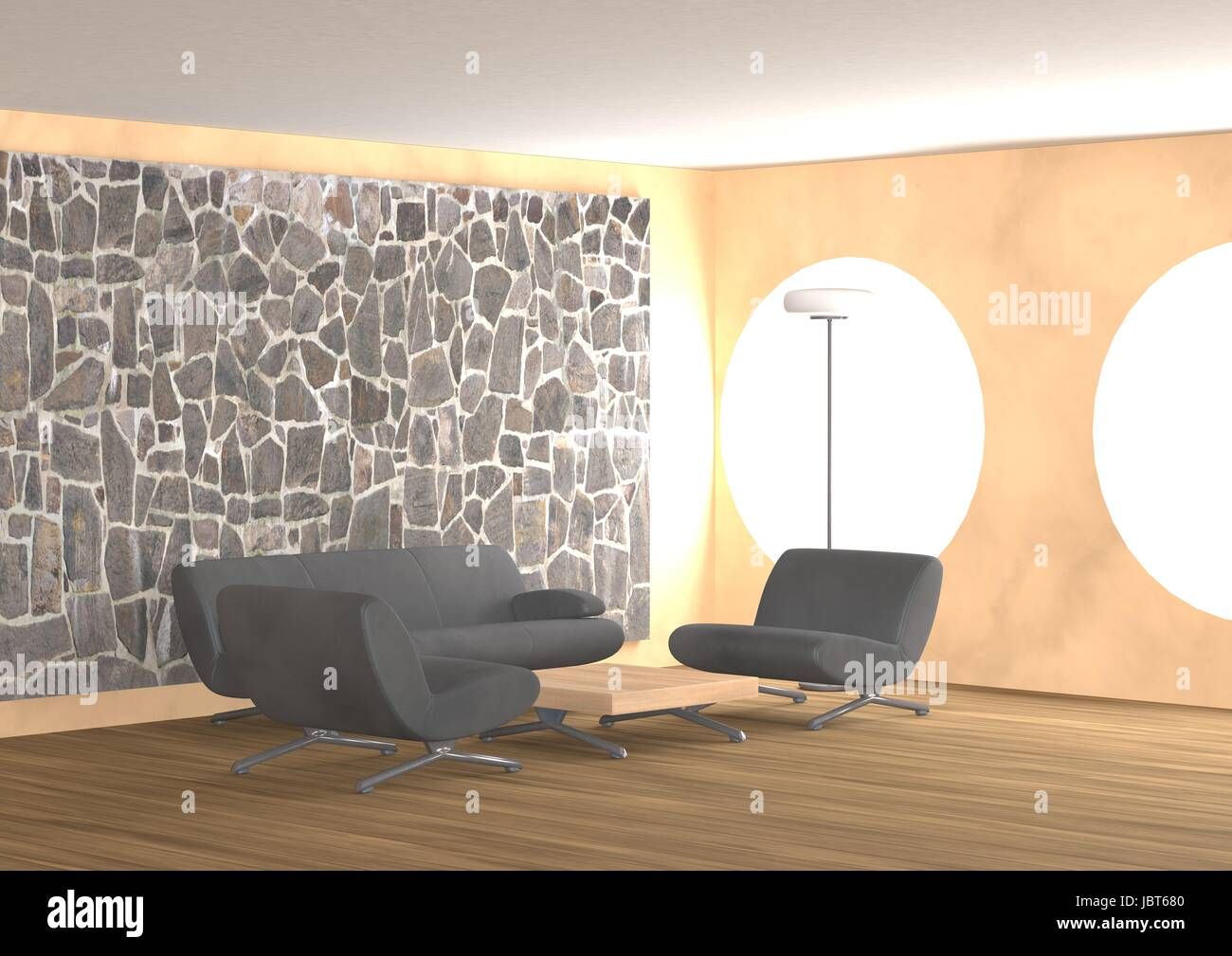 Interieur-Design Stockbild