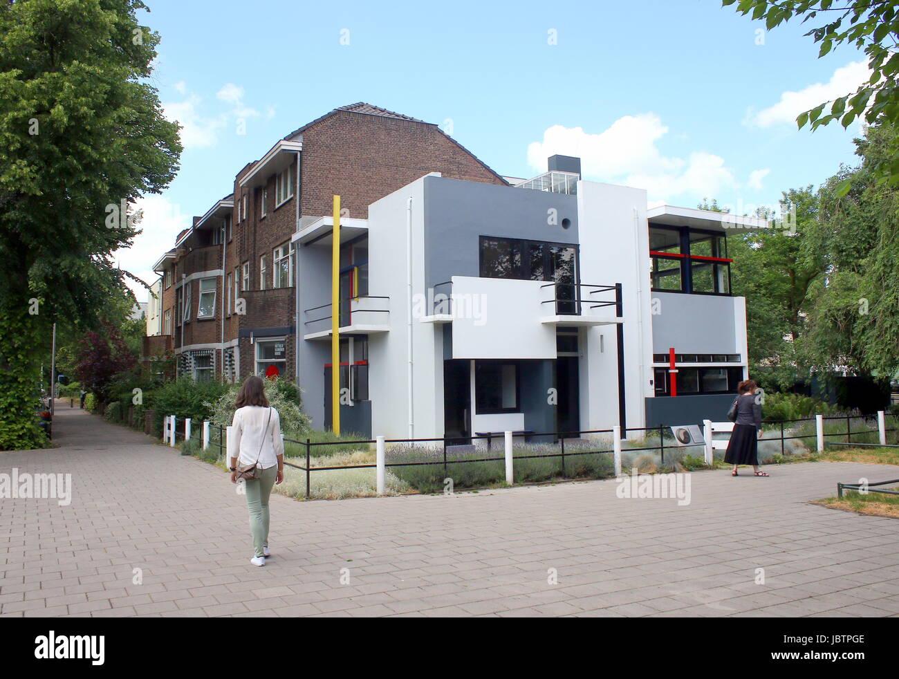 Rietveld Schröder Haus Museum Entworfen Von De Stijl Architekten