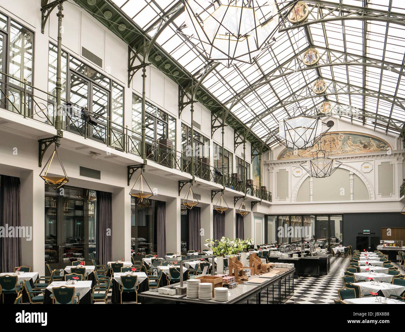 Wintergarten Im Hotel Nh Collection Amsterdam Grand Hotel