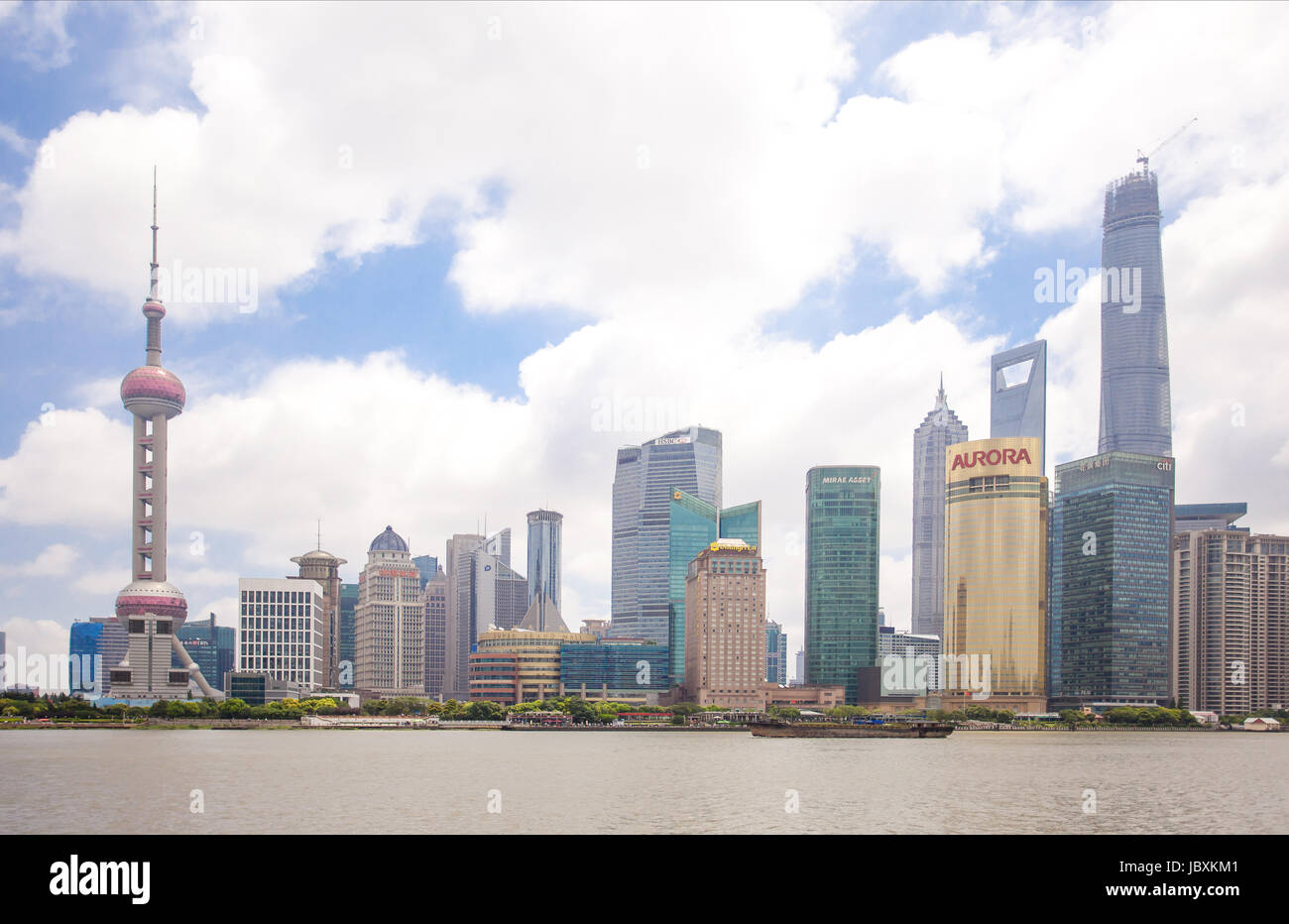 Orientel Pearl Tower Stockbild