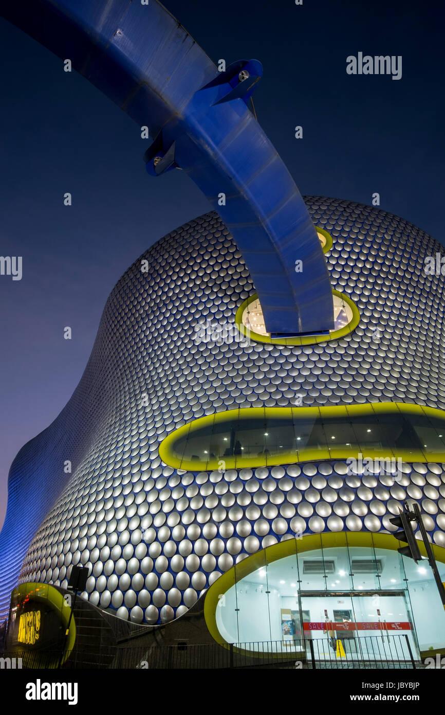 Das atemberaubende und schrulligen Selfridges & Co Gebäude in Birmingham, Großbritannien Stockbild
