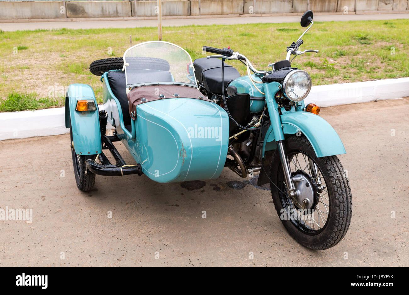 vintage bike and sidecar stockfotos vintage bike and. Black Bedroom Furniture Sets. Home Design Ideas
