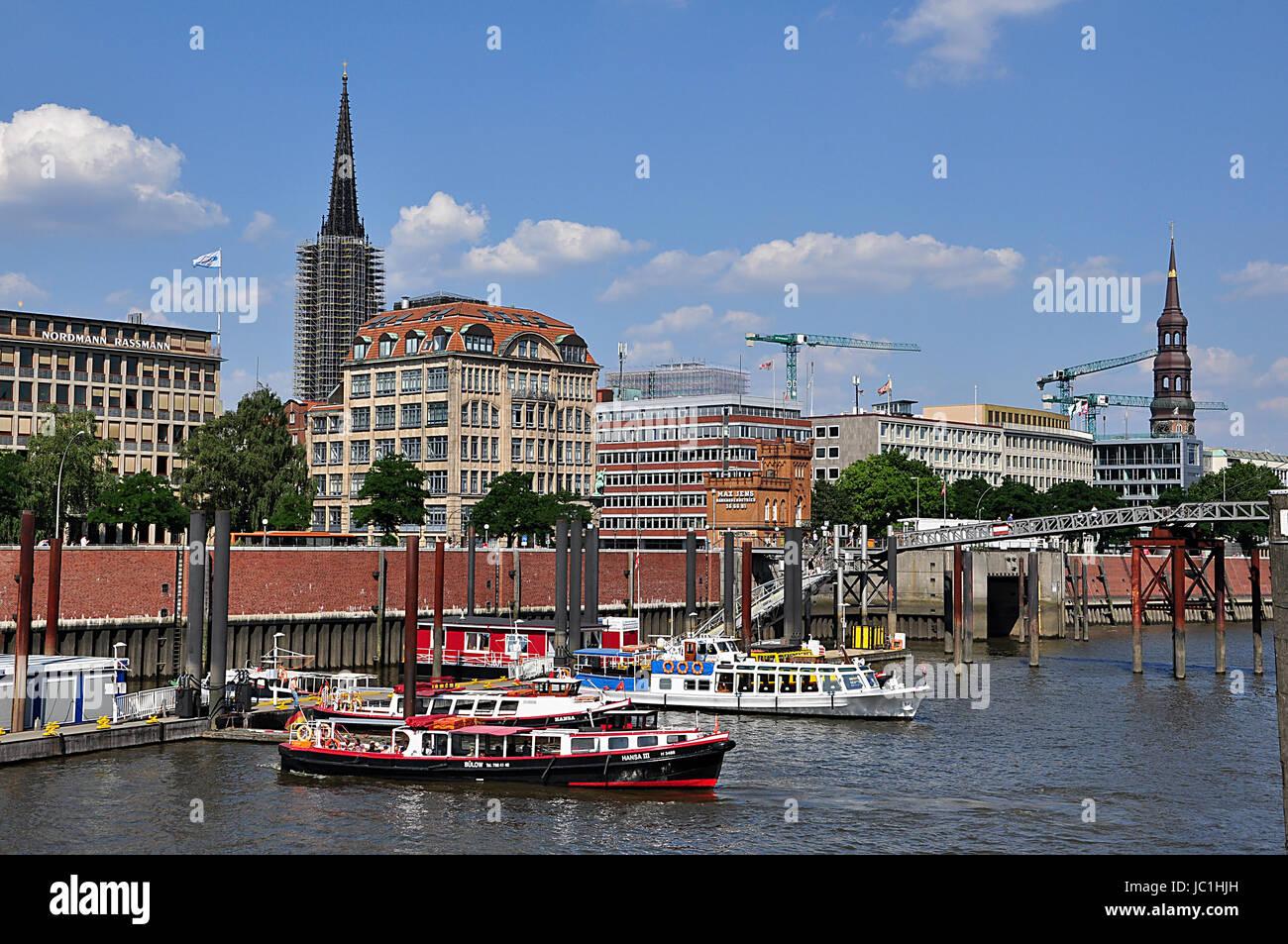 Hamburg Stockbild