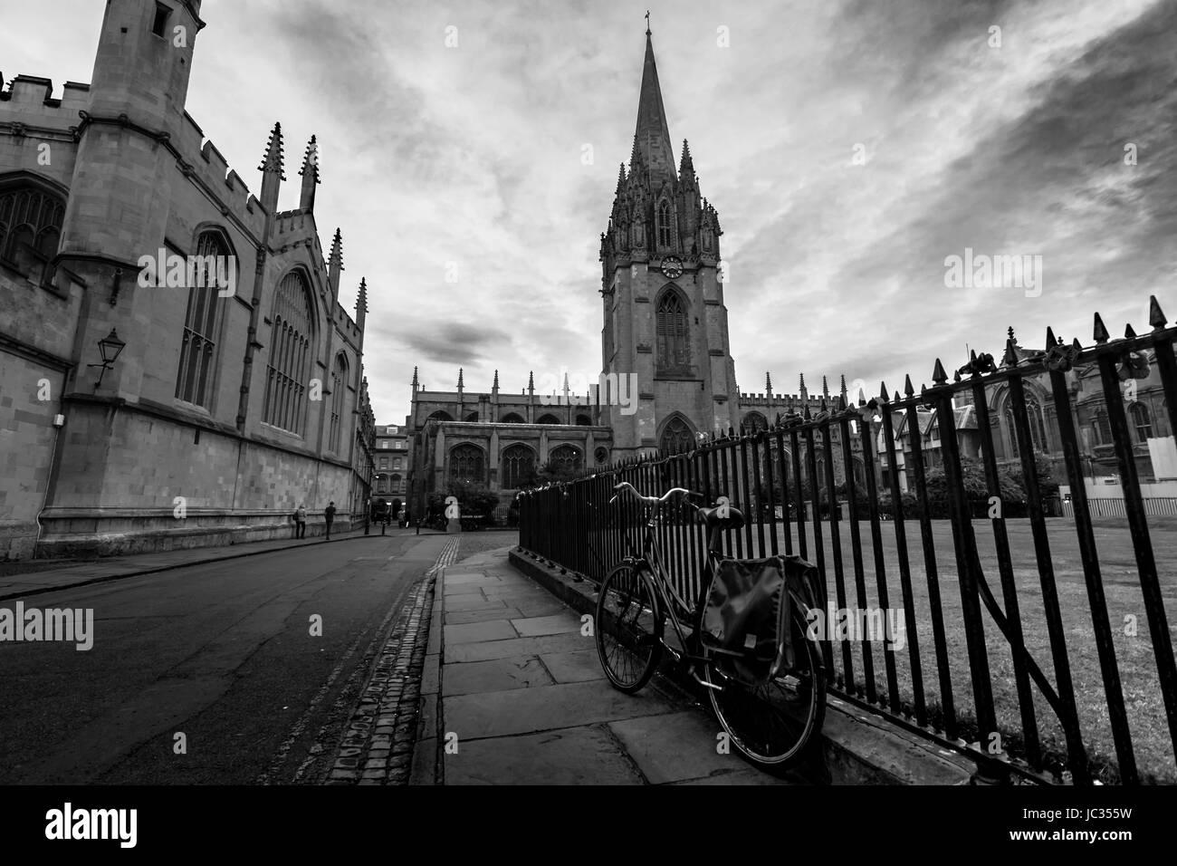 Gebäude der Universität von Oxford Stockfoto