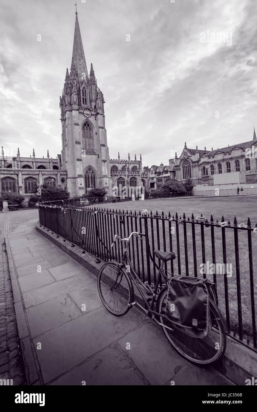 Gebäude der Universität von Oxford Stockbild