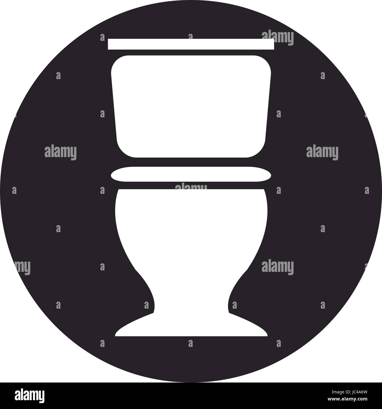 toilet bowl vector illustration isolated stockfotos toilet bowl vector illustration isolated. Black Bedroom Furniture Sets. Home Design Ideas