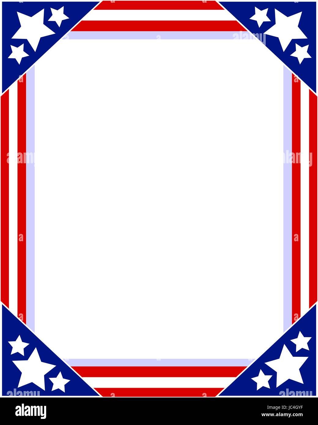 Ausgezeichnet Patriotischer Nummernschildrahmen Fotos ...