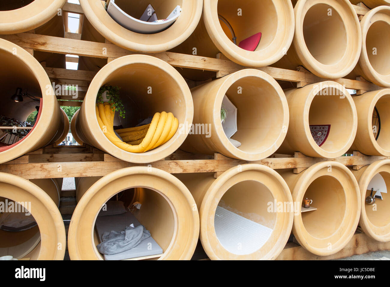 """""""When We Were Exhaling Bilder"""" von der konzeptionellen Künstler Hiwa K, Documenta 14 Ausstellung Stockbild"""