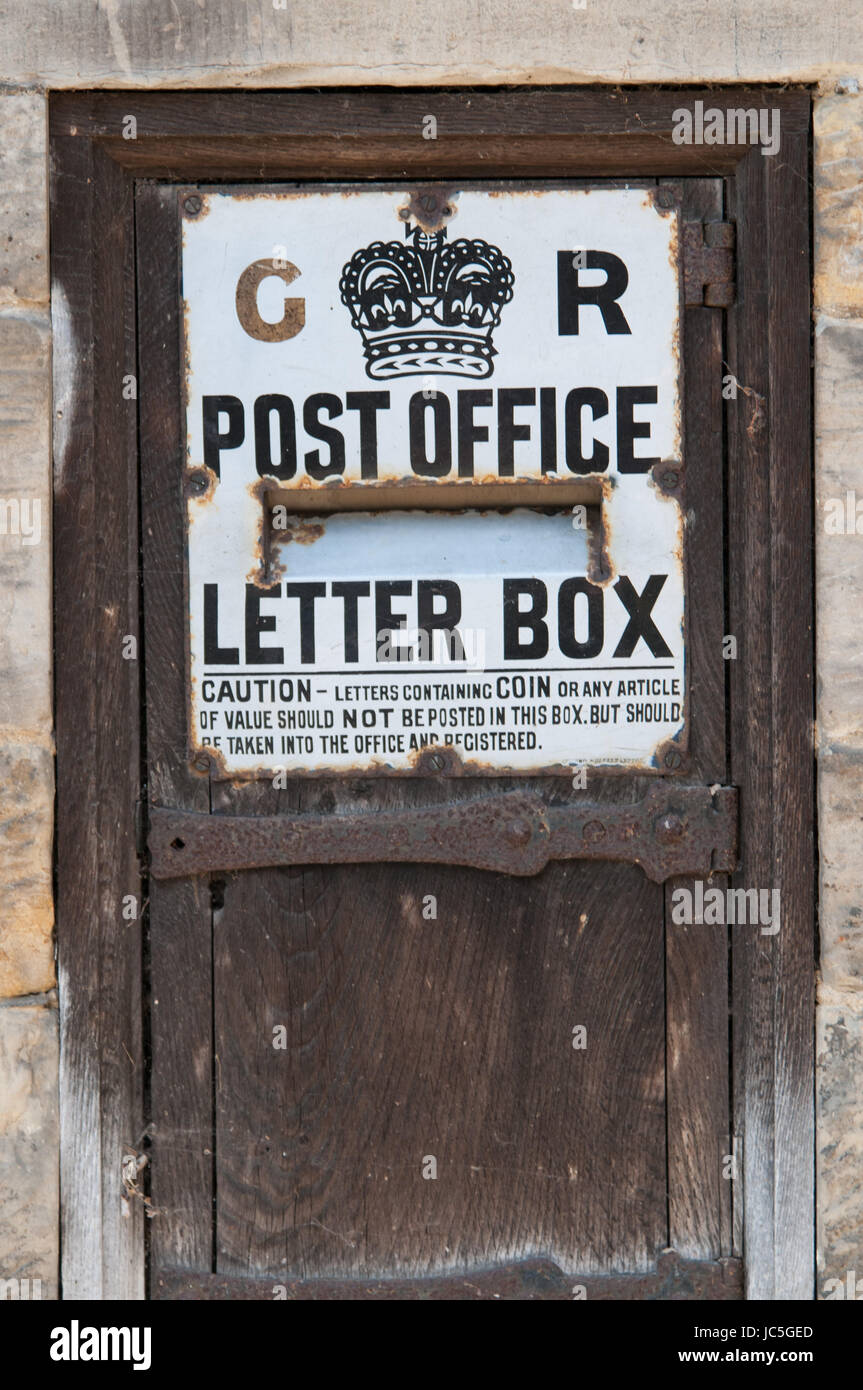 Letterbox Postbox Historic Stockfotos Letterbox Postbox Historic