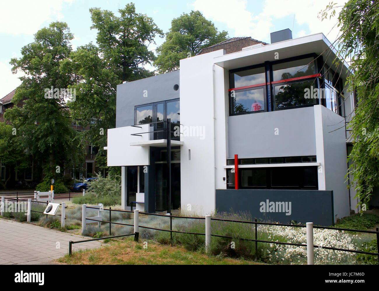 Rietveld Schröder Haus Entworfen Von De Stijl Architekten Gerrit
