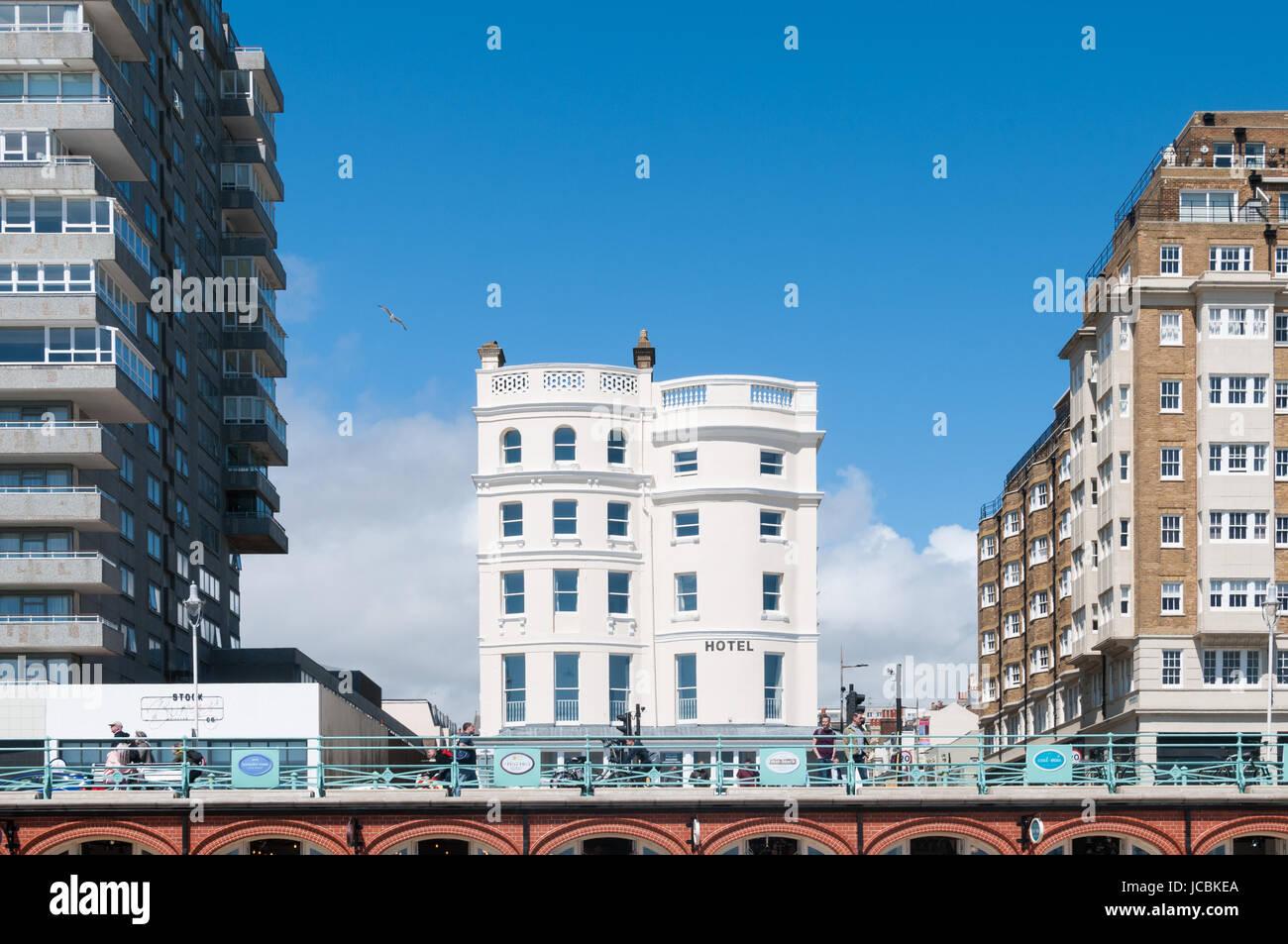 Brighton, Vereinigtes Königreich Stockbild