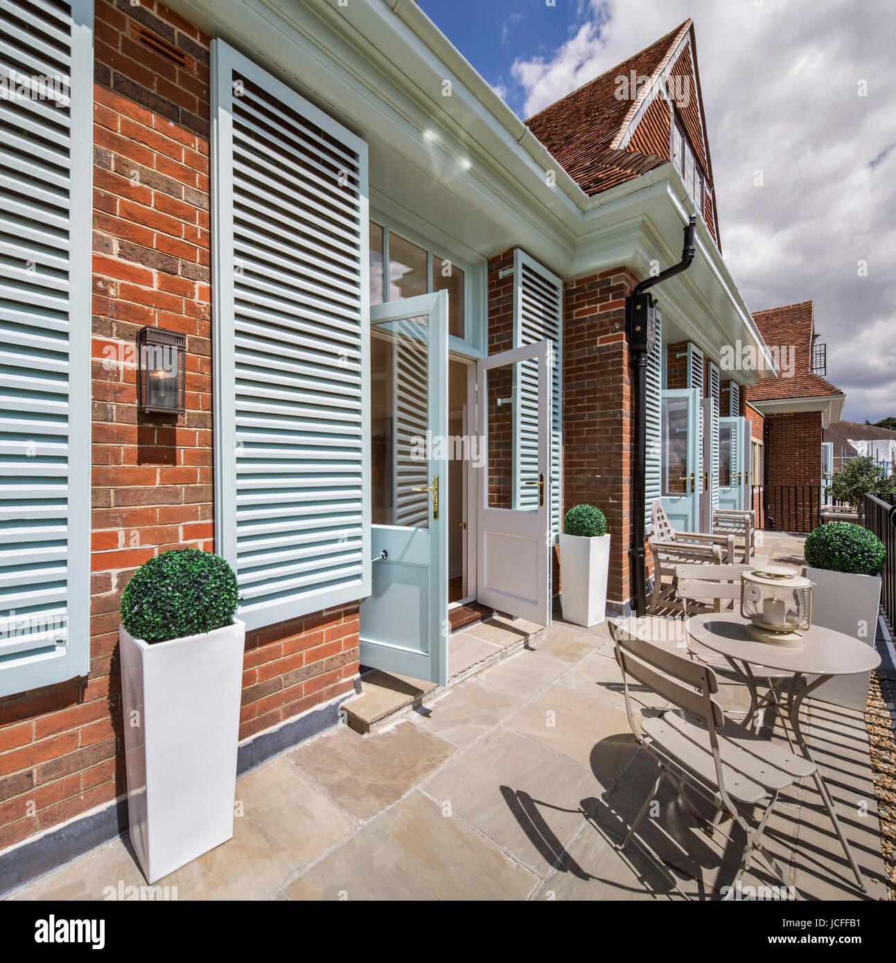 Wohnung Terrasse. König Edward VII Estate Apartments, Midhurst, Vereinigtes  Königreich. Architekt: Stadt U0026 Land Entwickler, 2016.