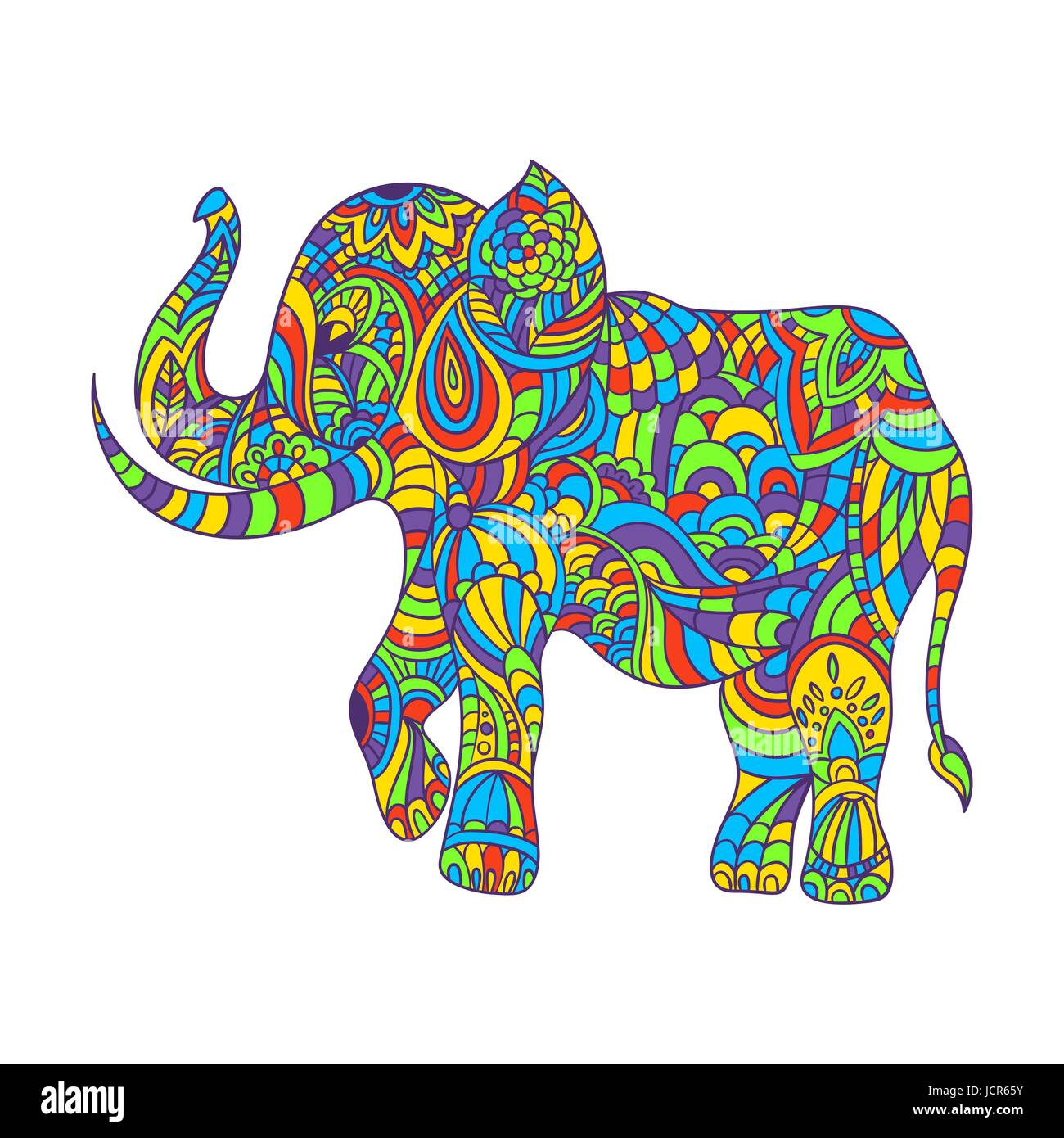 Berühmt Malvorlagen Elefanten Stammes Galerie ...