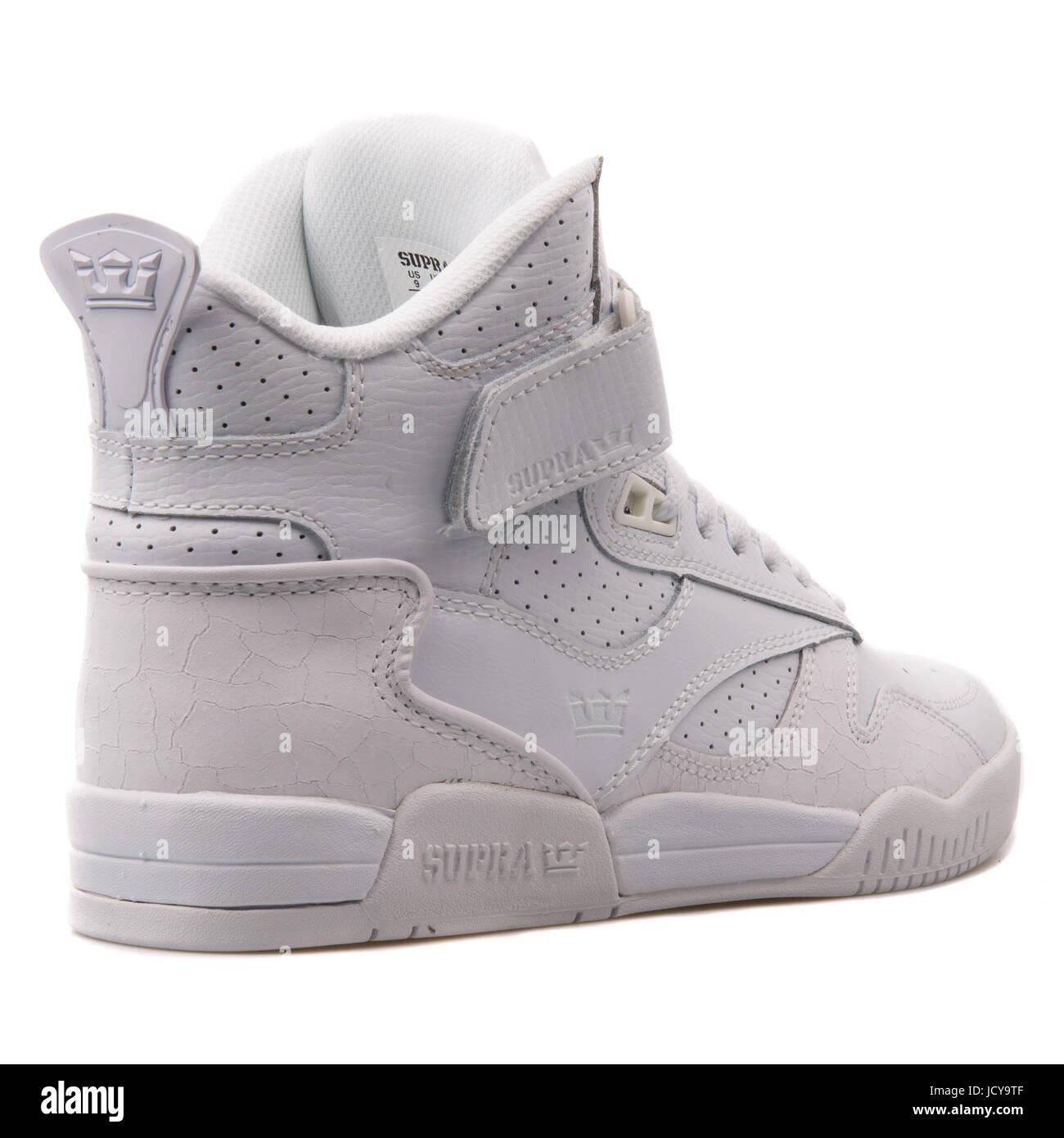 Schuhe Für Herren Supra Schuhe Sneaker Bleeker In Weiß
