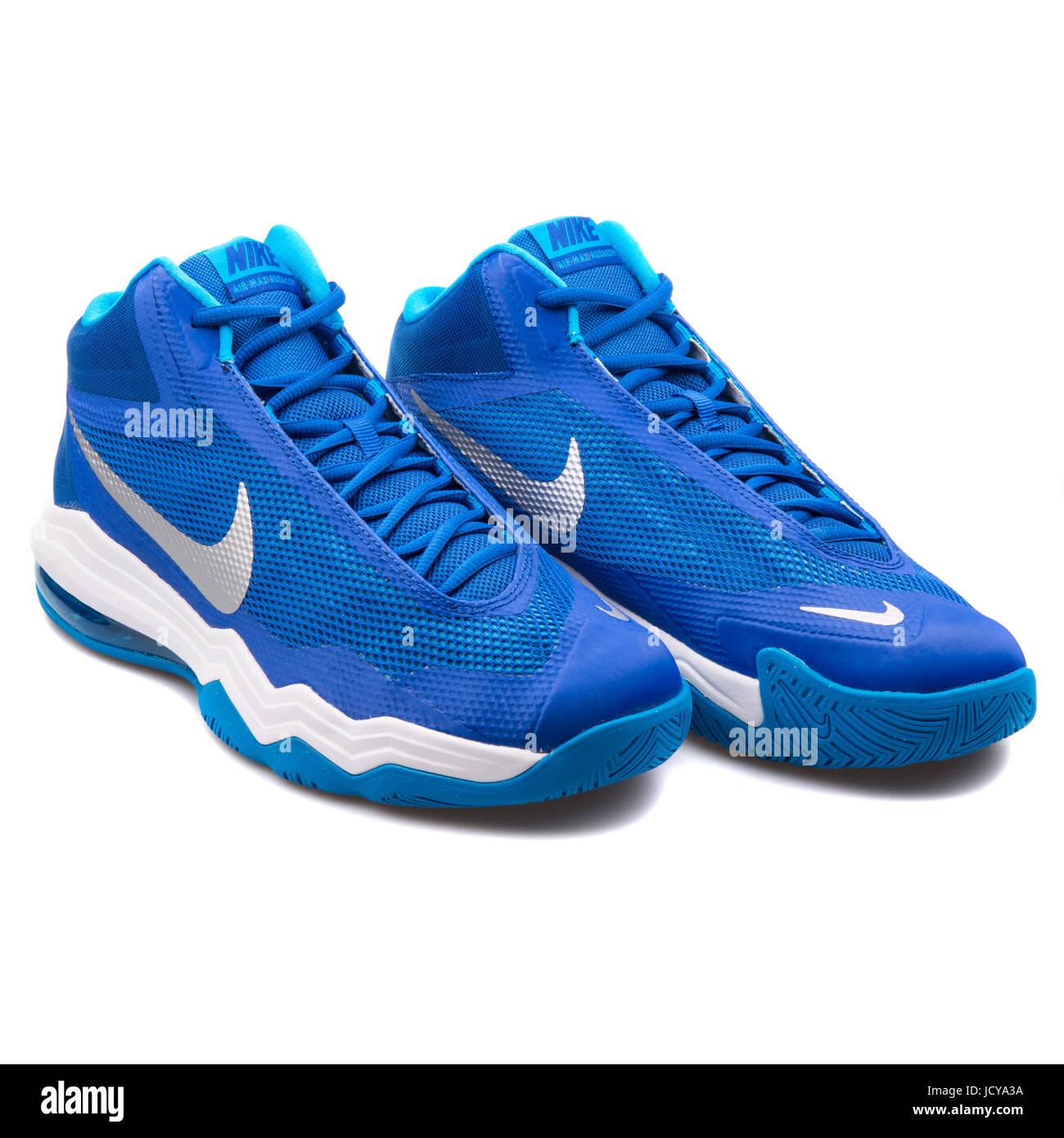 Unisex Air Max Audacity Basketball Nike blau und TB weiß rCBoxed